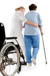 Heben und Halten in der Pflege